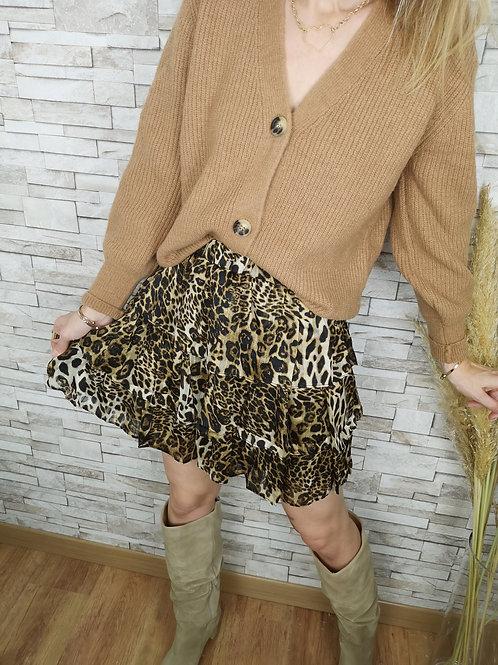 Jupe léopard Stacy