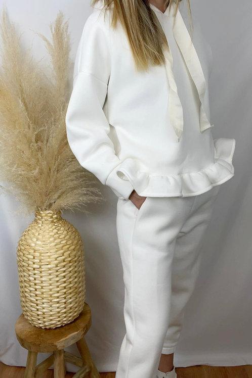 Pantalon Marco blanc