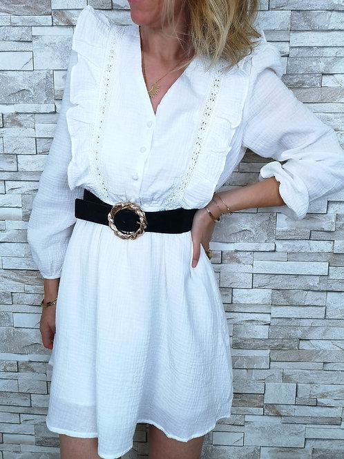 Robe Lauren Blanche