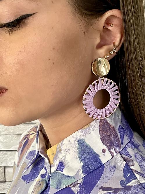Boucles d'oreilles Loubna