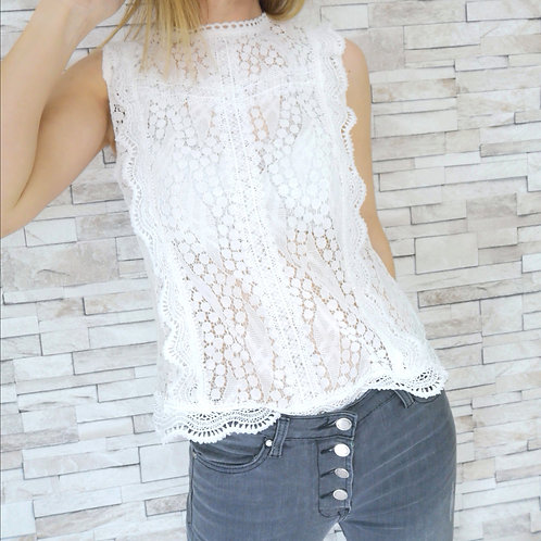 Blouse Holly Blanche