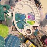 My life! 🎨 #art #artstudent #rainyday #