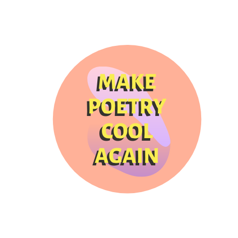 SPAM Badge - Make Poetry Cool Again