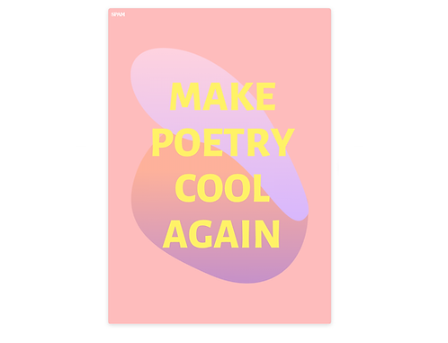 Make Poetry Cool Again Poster