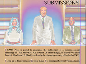 The Apprentice Poetry Anthology – CALL FOR SUBMISSIONS