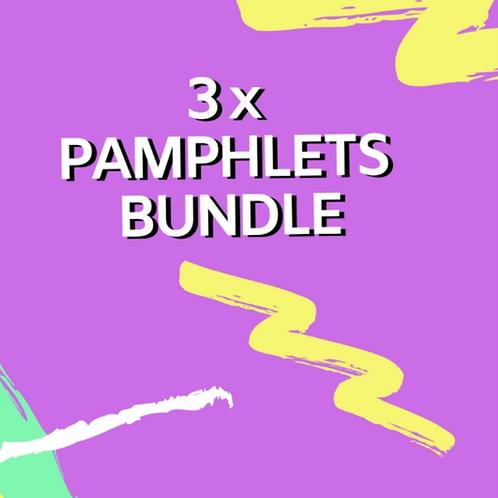 3 Pamphlet Bundle