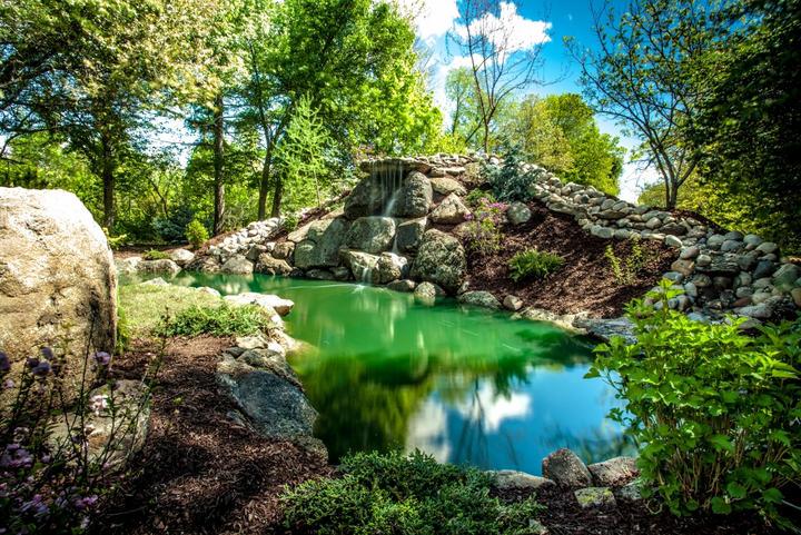 Korpi Nursery Water Feature
