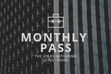 會員票 Membership Pass