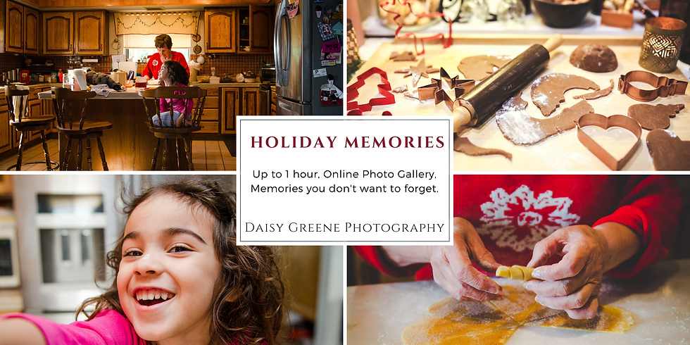 Lifestyle In-Home Photo Sessions. Holiday Memories