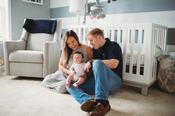 In-Home Lifestyle Newborn Photography