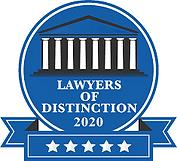 Lawyer of Distinction logo