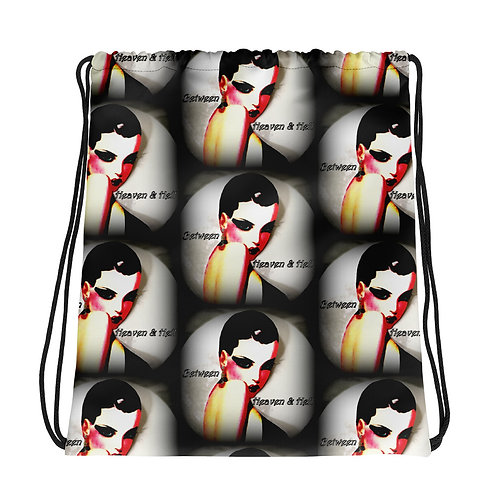 Witchy Woman Full Moon Drawstring bag Between Heaven and Hell