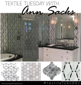#textiletuesday Vs. Ann Sacks