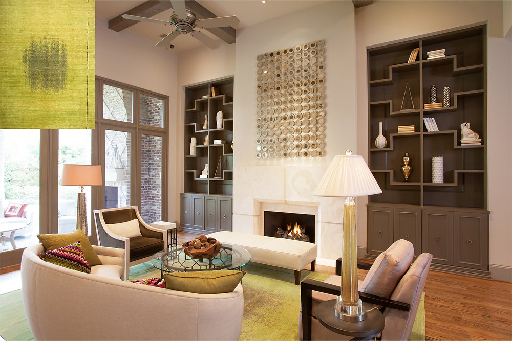 Transitional Houston Interior