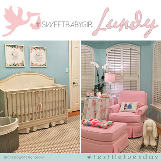 #textiletuesday Vs. Sweet Baby Girl Lundy