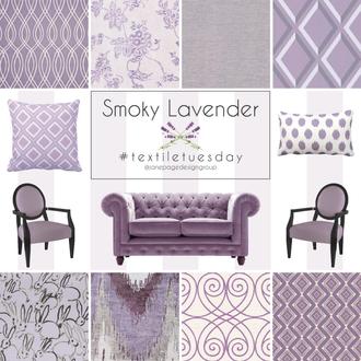 #textiletuesday Vs. Smoky Lavender