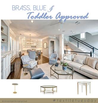 #textiletuesday Vs. Brass & Blue