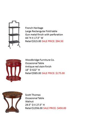 Jane Page Design Group Warehouse SALE!