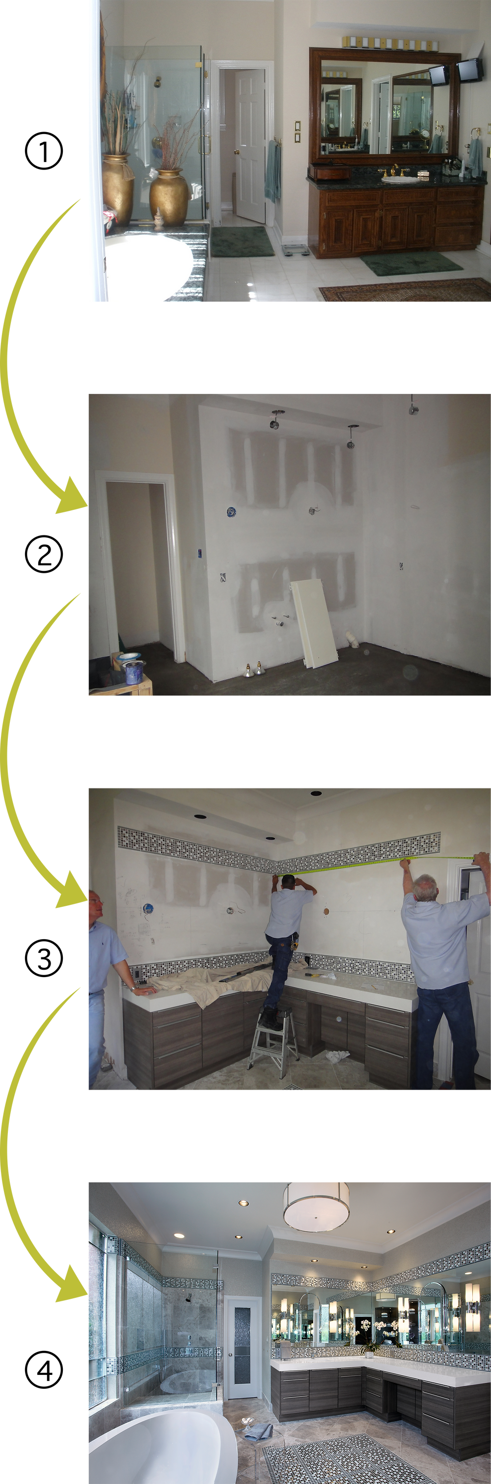 The Bathroom Remodel Process in 4 Steps