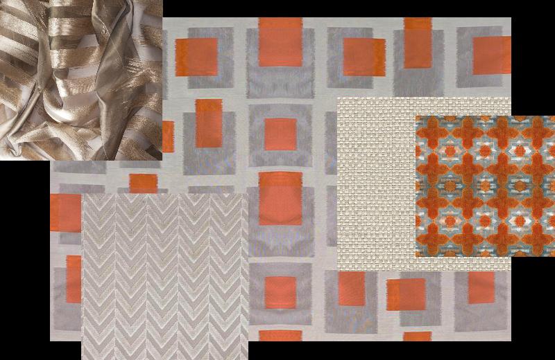 Persimmon Textiles for Custom Furniture