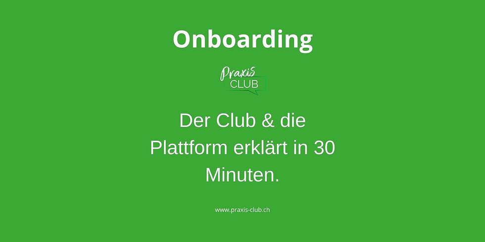 Onboarding für Neumitglieder oder bestehende Mitglieder*innen