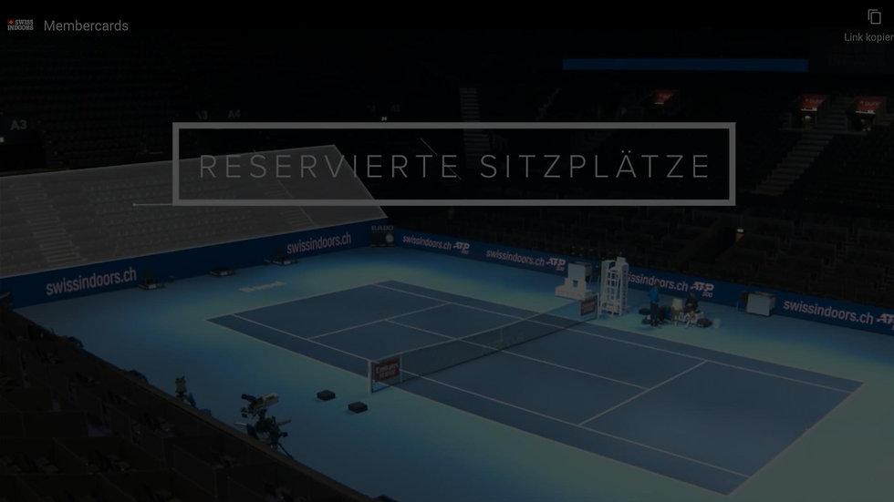 Swiss Indoors Videomarketing