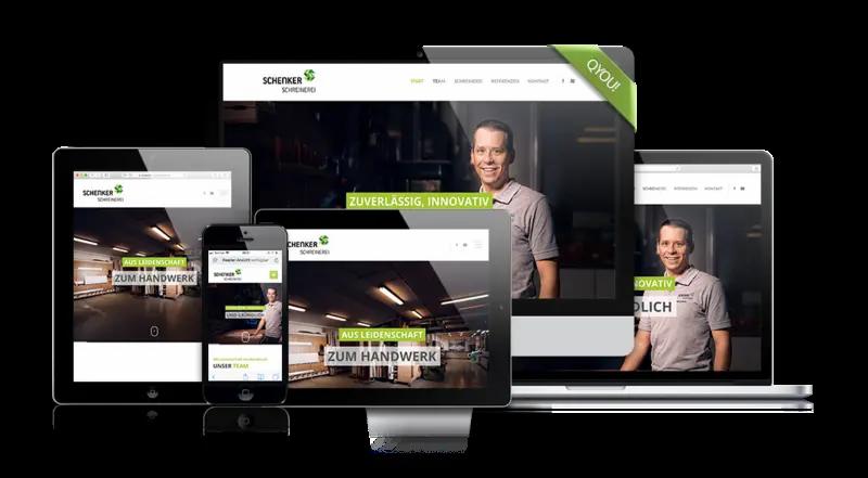Website unseres Kunden