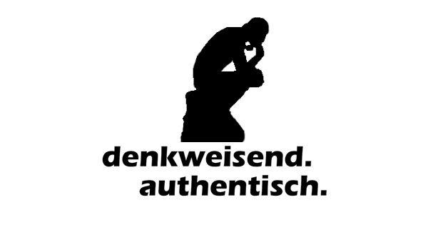 Logo Denkweisend. Authentisch.