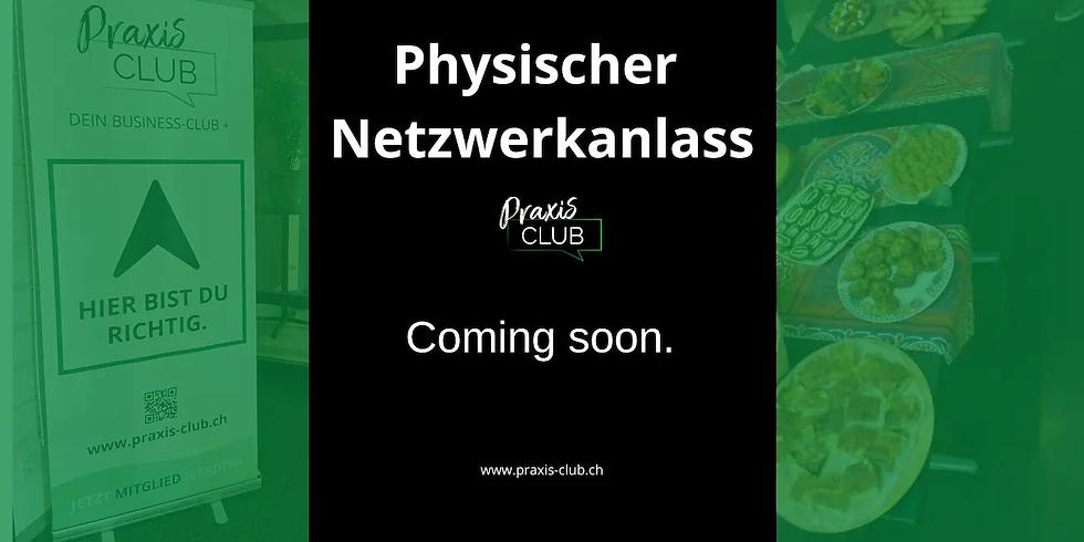 Physischer Netzwerkanlass (provisorisch)