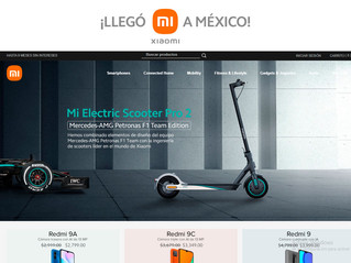 Xiaomi lanza tienda online en México