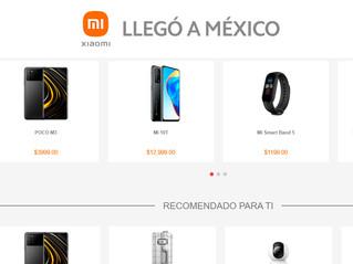 Así es la nueva tienda oficial de Xiaomi en línea