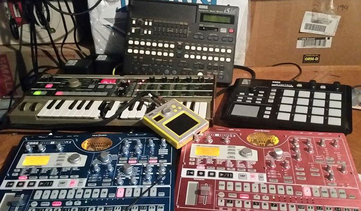 Some of the equipment I used between 2014 and 2017