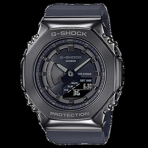 Casio G-Shock - GMS2100 Series - Carbon Square - Black GMS2100B-8A