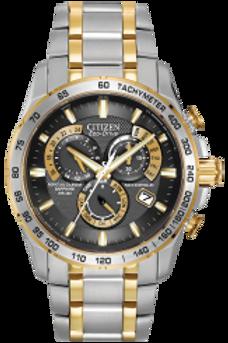 Citizen Eco-Drive AT4004-52E 42 mm Silver Case Silver/Gold
