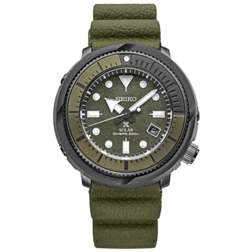Seiko Prospex  Solar Tuna Dive Watch Street Collection SNE535
