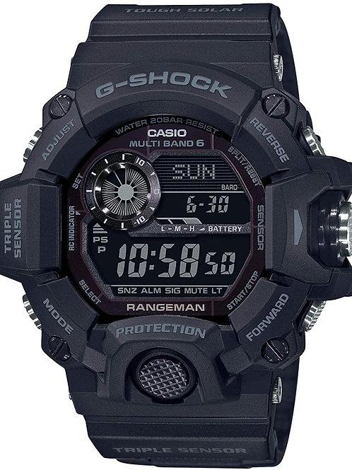 Casio G-Shock - GW9400 Series - Blackout Rangeman GW9400-1B