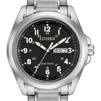 Citizen Men's Eco-Drive AW0050-82E Silver Stainless-Steel
