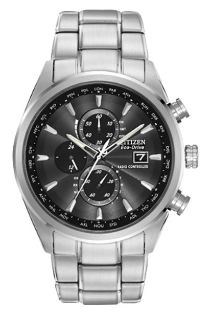Citizen Eco-Drive World Chronograph A-T Men's Watch AT8010-58E