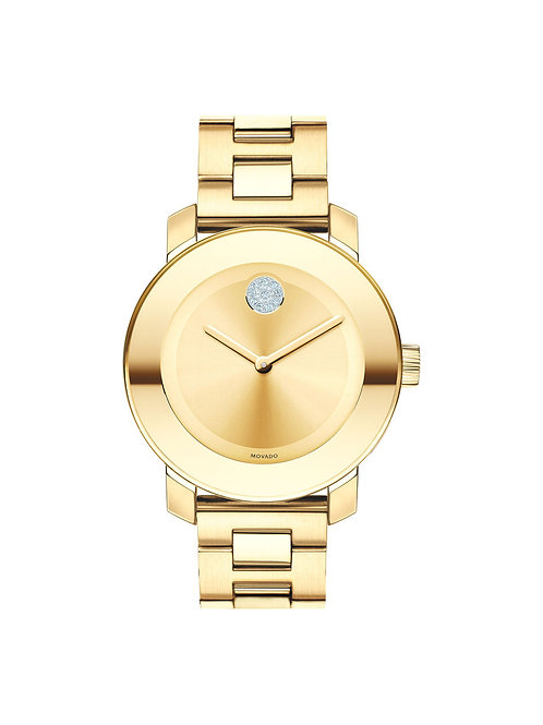 Movado Women's Bold 3600104 Gold Stainless-Steel Swiss Quartz