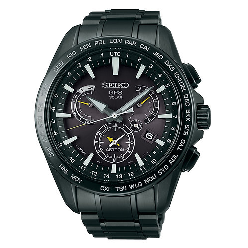 Seiko Astron GPS Solar Dual Time MADE IN JAPAN SSE079