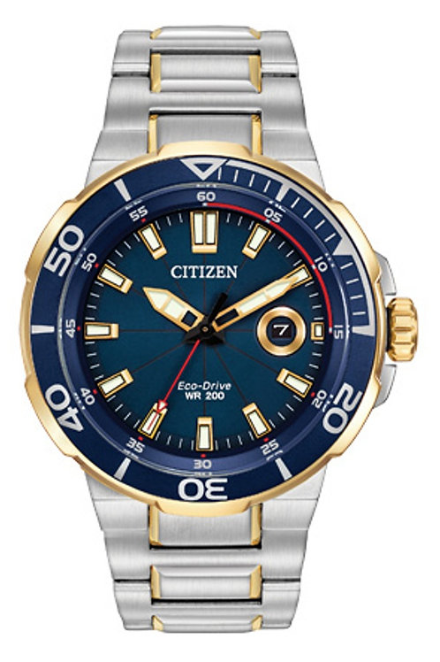 CITIZEN ECO-DRIVE DIVERS Endeavor Model AW1424-54L