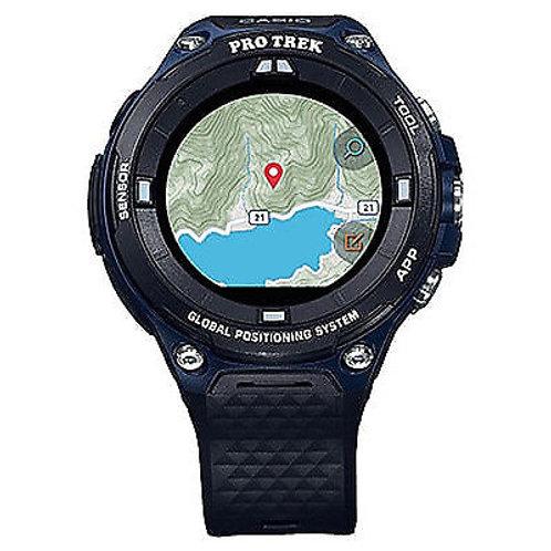 Casio Pro Trek WSD-F20A Smart Outdoor Watch in Indigo Blue