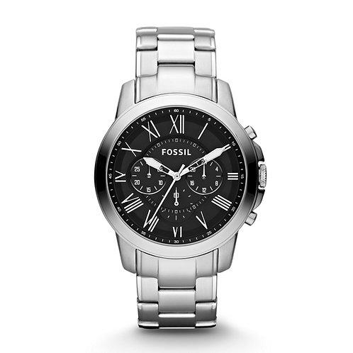 Fossil Men's FS4736 Grant Stainless Steel Bracelet Watch