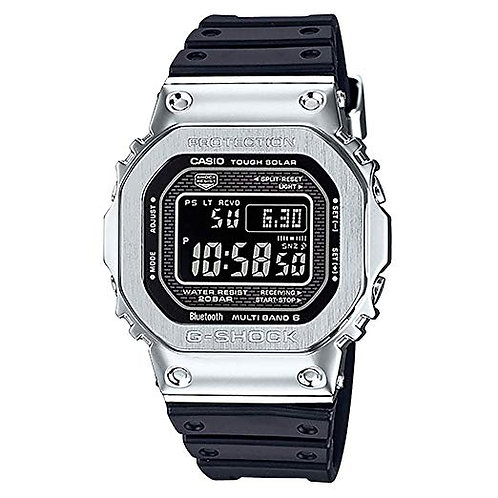 CASIO G-Shock GMW-B5000-1 Stainless Steel with Resin Band