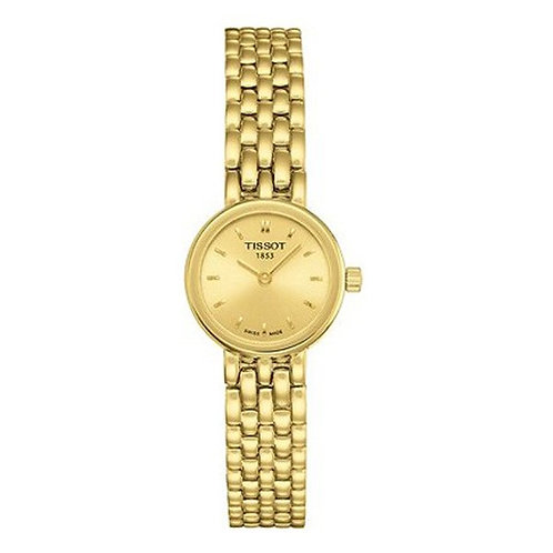 Tissot Lovely Gold-Tone Ladies Watch - T058.009.33.021.00