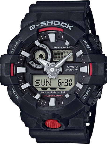 G-SHOCK GA700-1A MEN'S WATCH