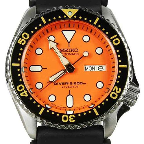 Seiko Diver Orange Automatic SKX011J MADE IN JAPAN