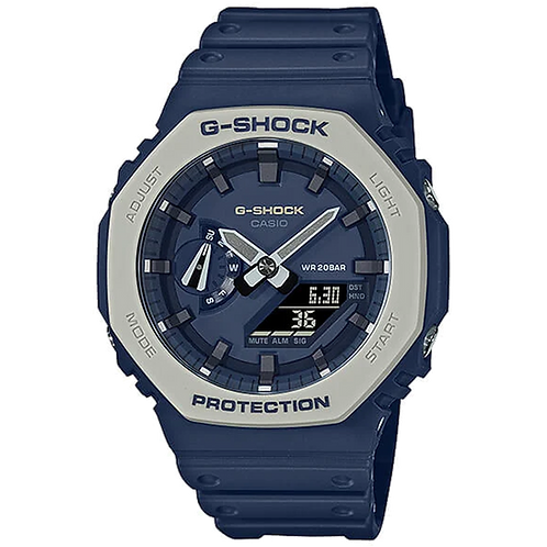 Casio  GA2110ET-2A  G-Shock - GA2100 Series - Carbon Square - Navy