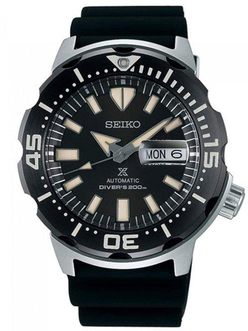 Seiko Prospex Monster Stainless Steel Black Dial SRPD27