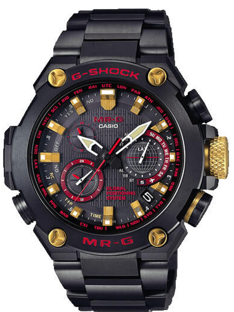 Casio G-Shock MR-G GPS Atomic Solar Hybrid MRGG1000B-1A4